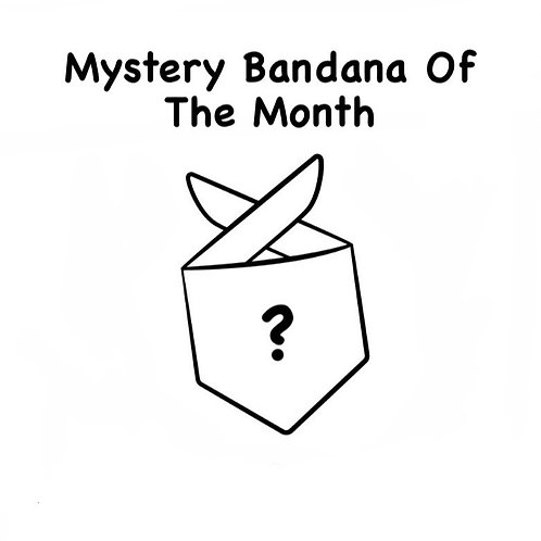 Mystery Bandana Of The Month