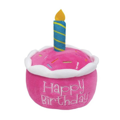 BIRTHDAY CAKE PLUSH - PINK