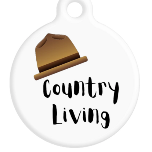County Living ID Tag