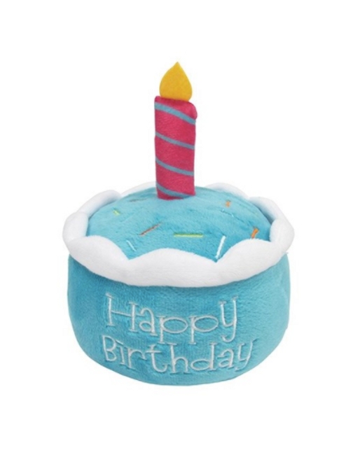 BIRTHDAY CAKE PLUSH - BLUE