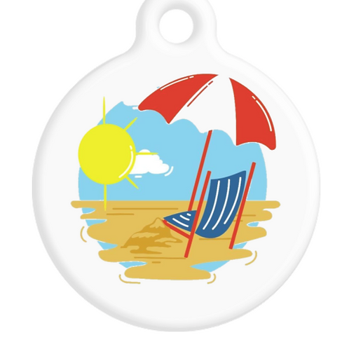 Beach Life ID Tag