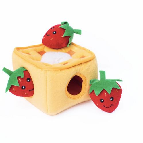 Zippy Burrow Strawberry Waffles