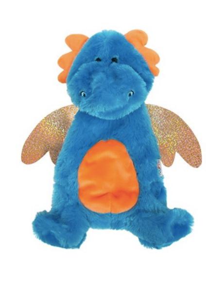 STUFFLESS CRINKLE DRAGON - BLUE