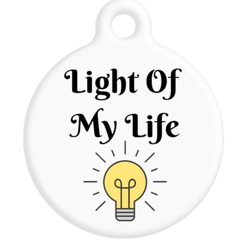 Light Of My Life ID Tag
