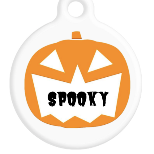 Pumpkin Mouth ID Tag