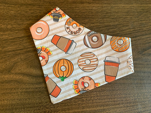 Thanksgiving Donuts Bandana