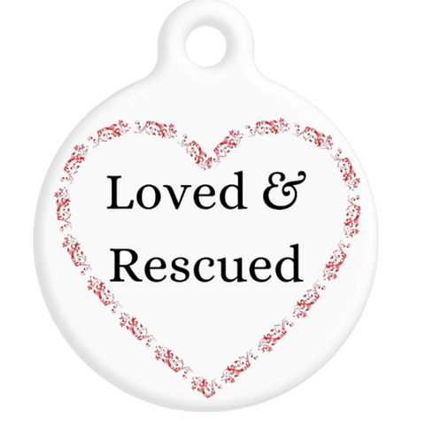 Loved & Rescued ID Tag