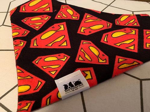 Flannel Superman Bandana