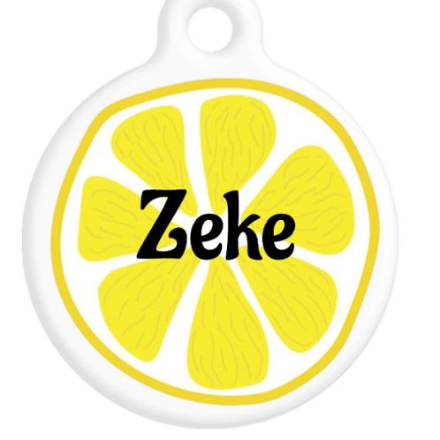 Lemon Slice ID Tag