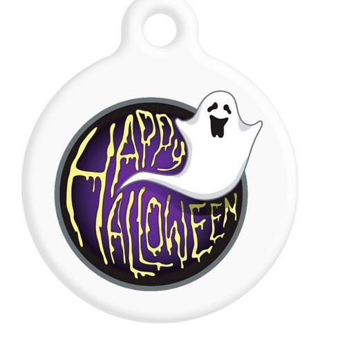 Happy Halloween ID Tag