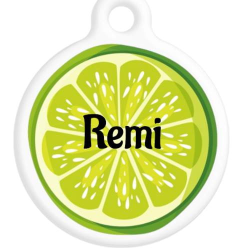 Lime Slice ID Tag
