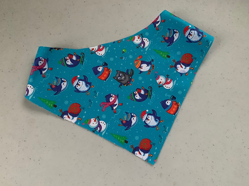Snow Penguins Bandana