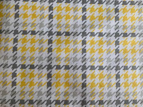 Flannel Yellow Bandana