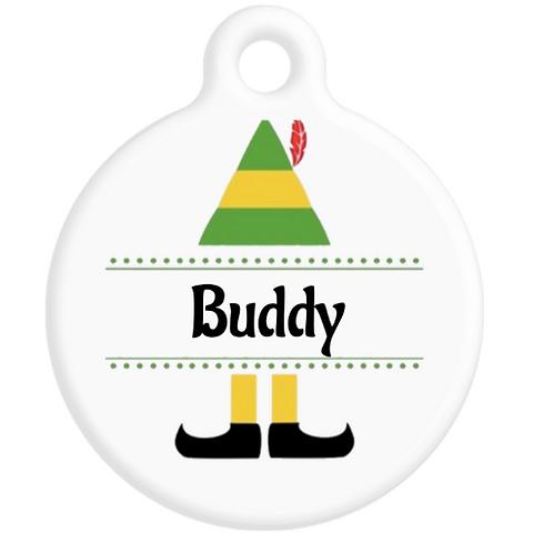 Buddy The Elf ID Tag