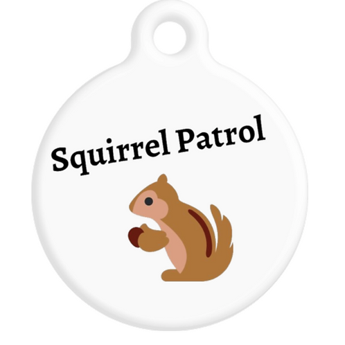 Squirrel Patrol ID Tag