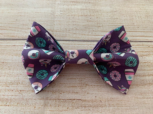 Purpler Donuts Bow