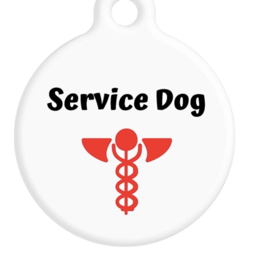 Service Dog ID Tag