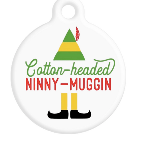 Cotton-Headed Ninny-Muggin ID Tag