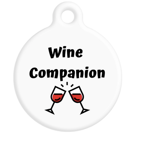 Wine Companion ID Tag