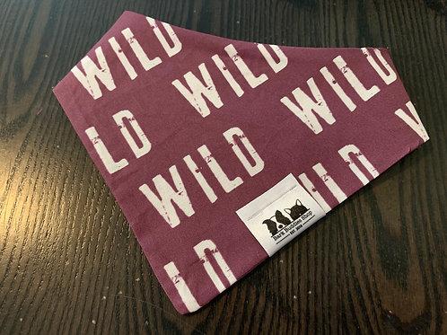 Plum Wild Bandana