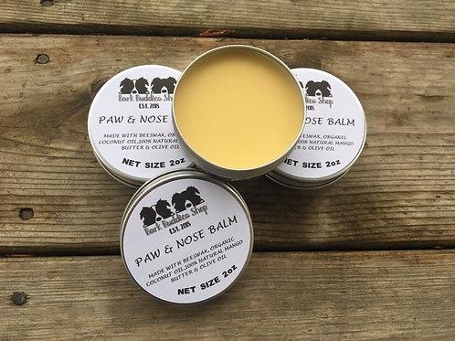 100% Natural Unscented Paw & Nose Balm Tin ~ 2oz