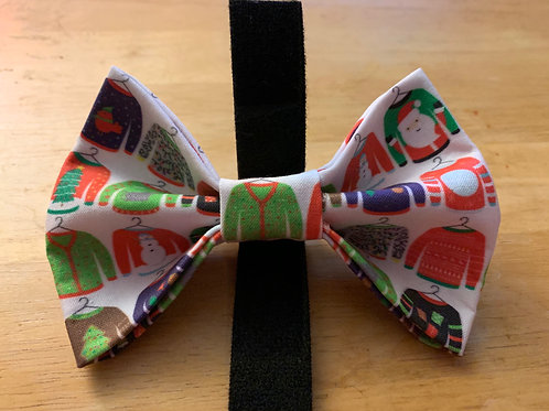 Ugly Christmas Sweaters Bowtie