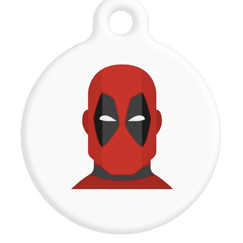 Deadpool ID Tag