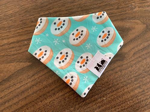 Snowman Donuts Bandana