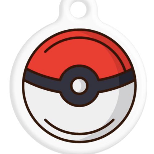 Pokemon Ball ID Tag