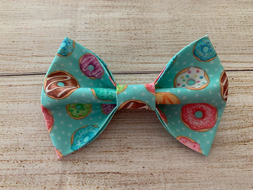 Blue Donuts Bow