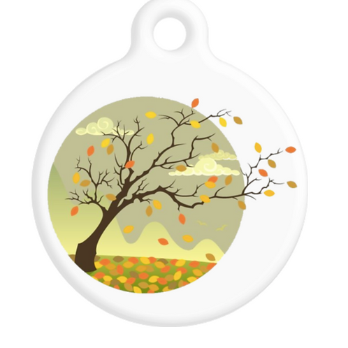 Fall Breeze ID Tag