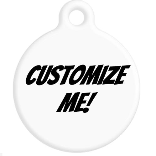 Customize Me ID Tag