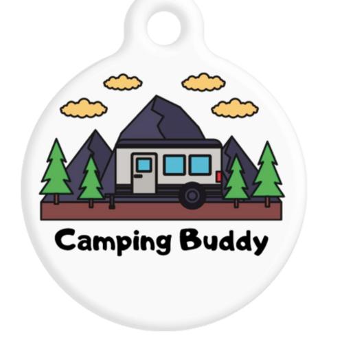 Camping Buddy ID Tag