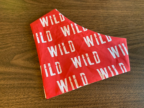 Red Wild Bandana