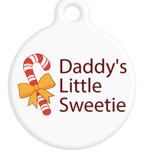 Daddy's Little Sweetie ID Tag