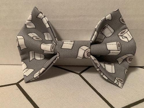 Toilet Paper Grey Bowtie