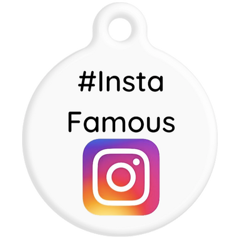Insta Famous ID Tag