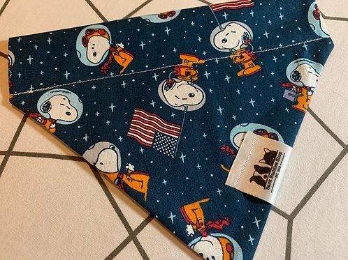 Snoopy The Astronaut Bandana