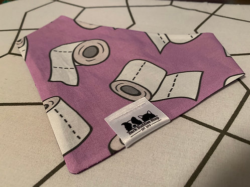 Toilet Paper Violet Bandana