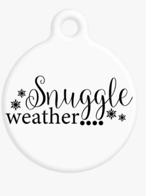 Snuggle Weather ID Tag