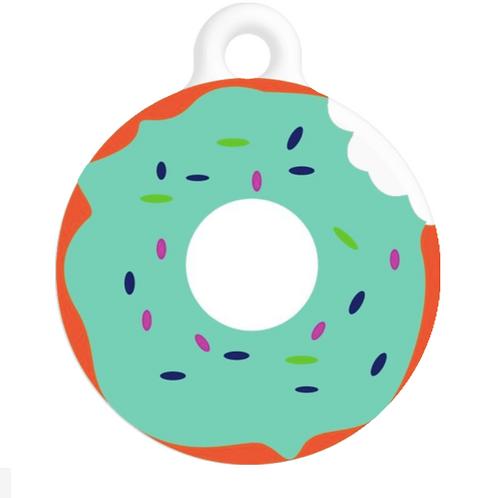 Blue Donut ID Tag
