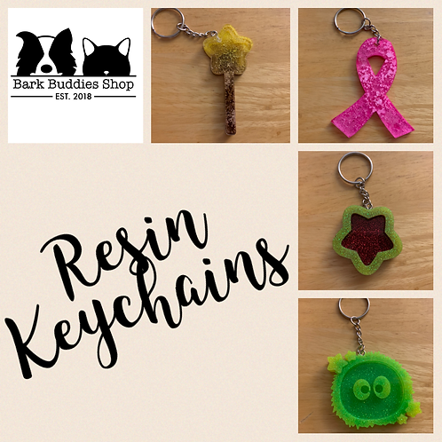 Resin Keychain/Human Keychain