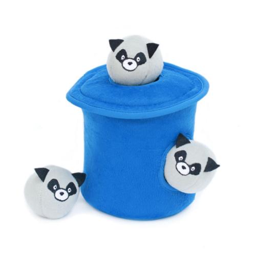 Burrow Raccoons In Trash Can