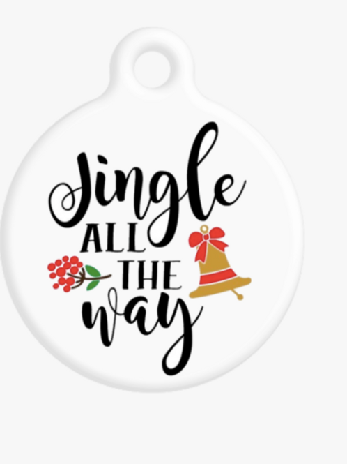 Jingle All The Way ID Tag
