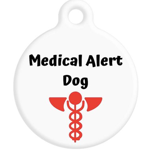 Medical Alert Dog ID Tag