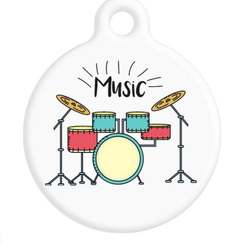 Drums ID Tag