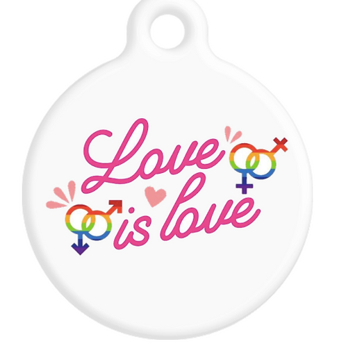 Love is Love ID Tag