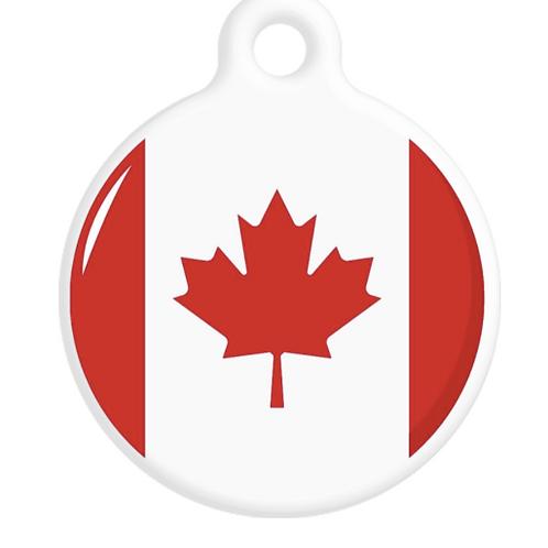 Canada Flag ID Tag