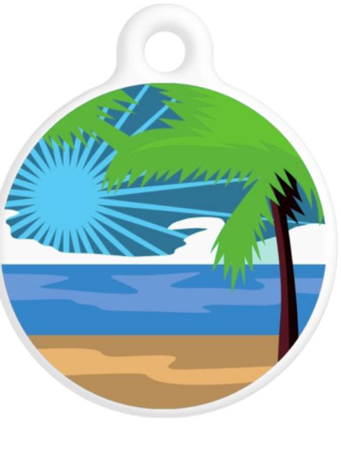 Ocean Breeze ID Tag
