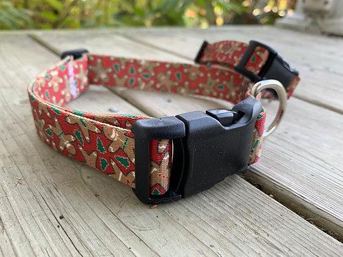 Gingerbread Adjustable BBS Collar